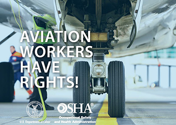 Aviation workers have rights!