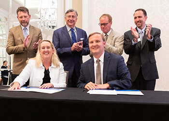 Global Cold Chain Alliance signing