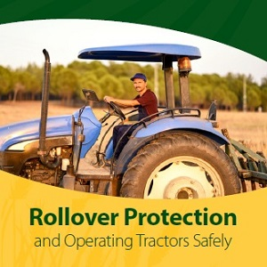 Screenshot of Rollover Protection and Operating Tractors Safely document