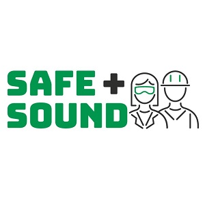 Safe + Sound logo