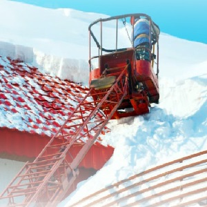 Photograph of snow removal