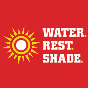 Water. Rest. Shade.