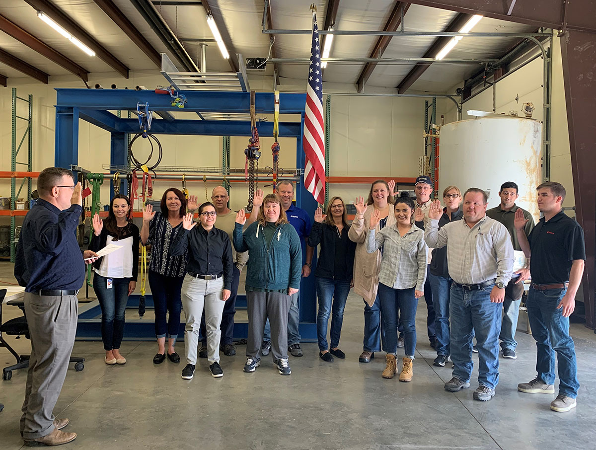 SGE training course conducted June, 2019 hosted by Phillips 66 Refinery, in Billings, Montana.