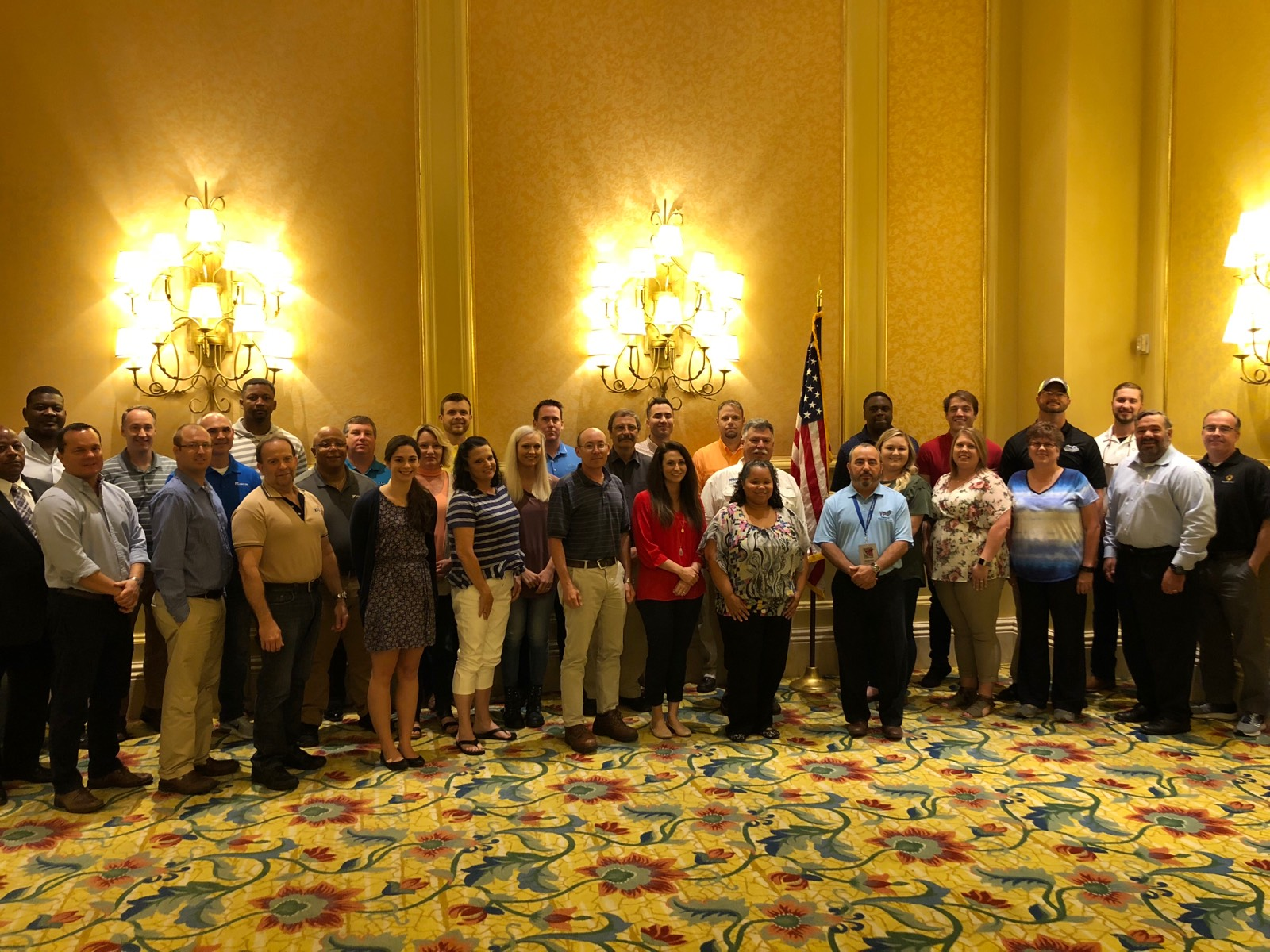 SGE training course conducted June, 2018 hosted by Region IV VPPPA, in Biloxi, MS.