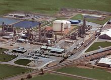 Koch Nitrogen Company operates this facility in Enid, Okla., which produces free ammonia, UAN and urea.