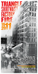 Triangle Shirtwaist Fire Poster