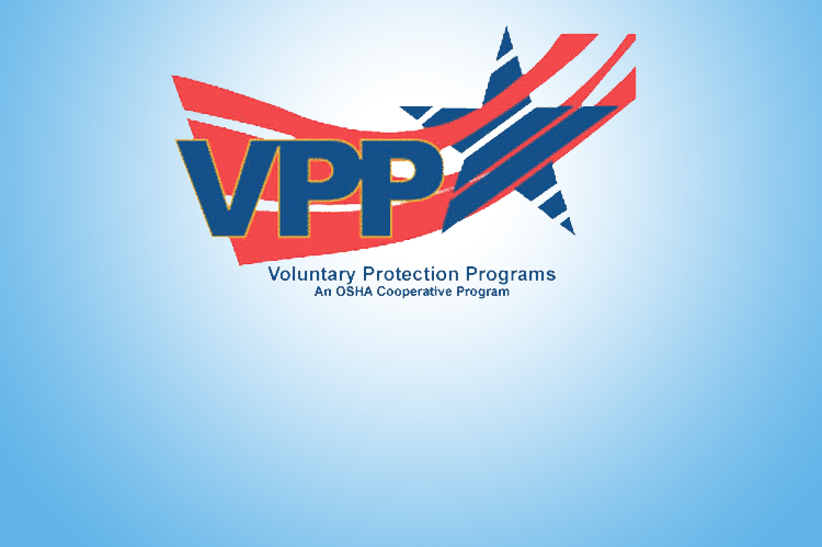VPP Logo. Voluntary Protection Programs - An OSHA Cooperative Program