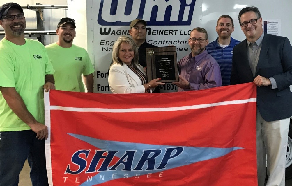 Wagner-Meinert LLC Recognized for Outstanding Safety Practices by the State of Tennessee